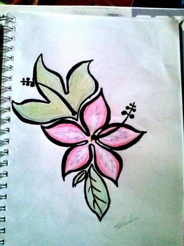 Graphisme dessin le blog multim dia 100 facile - Dessin de fleur facile ...